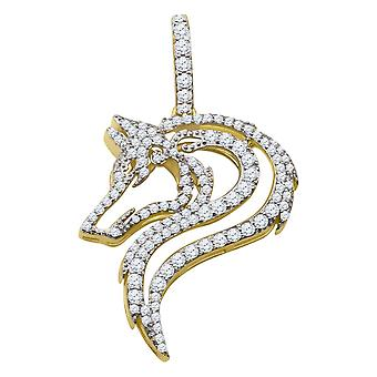 925 sterling silver micro pave pendants - gold DRAGON