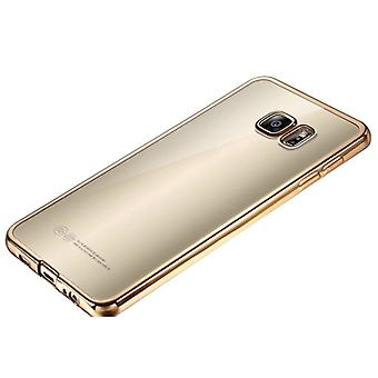 Premium TPU Silikoncase gull for Samsung Galaxy S7 G930 G930F