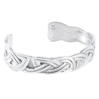 Celtic Knotwork Pewter Bangle