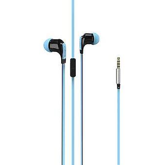 Vivanco Talk 4 In-ear headphones In-ear Headset Blue