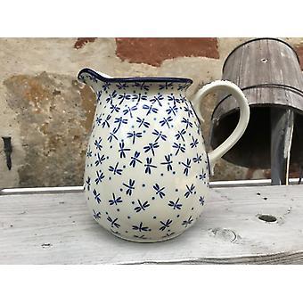 Jar, 2000 ml, height 18 cm, damselfly, BSN A-0174