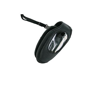 Wireless Solutions Belt Clip Leather Case for LG C2000 (Black)