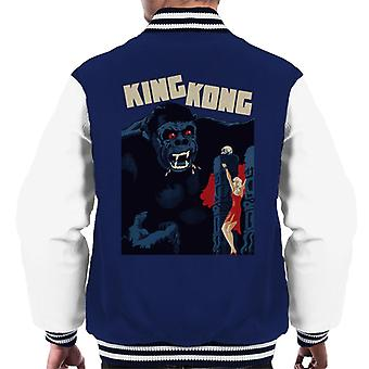 King Kong Classic Movie Poster Men's Varsity Jacket