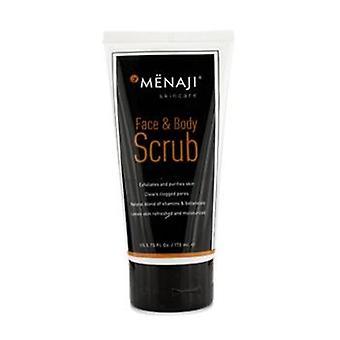 Menaji Face & Body Scrub - 170ml/5.75oz