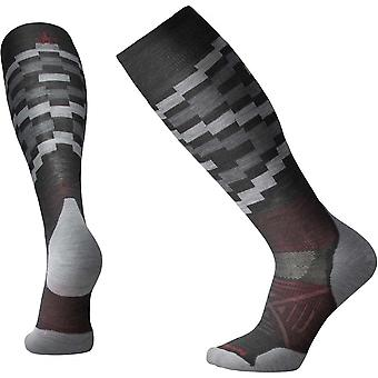 Smartwool PhD Ski Light Elite Pattern - Charcoal