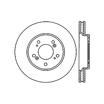 StopTech 128.40064L Sport Cross Drilled Brake Rotor (Front Left), 1 Pack