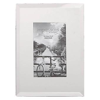 Juliana visninger Glass ren Design Photo Frame 4 x 6 - klar