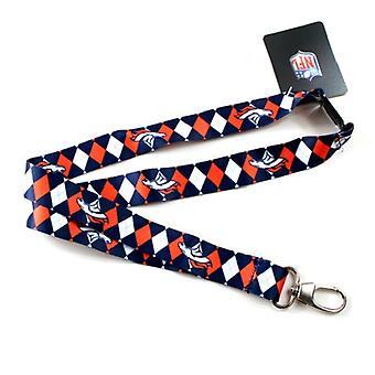 Denver Broncos NFL Argyle Lanyard