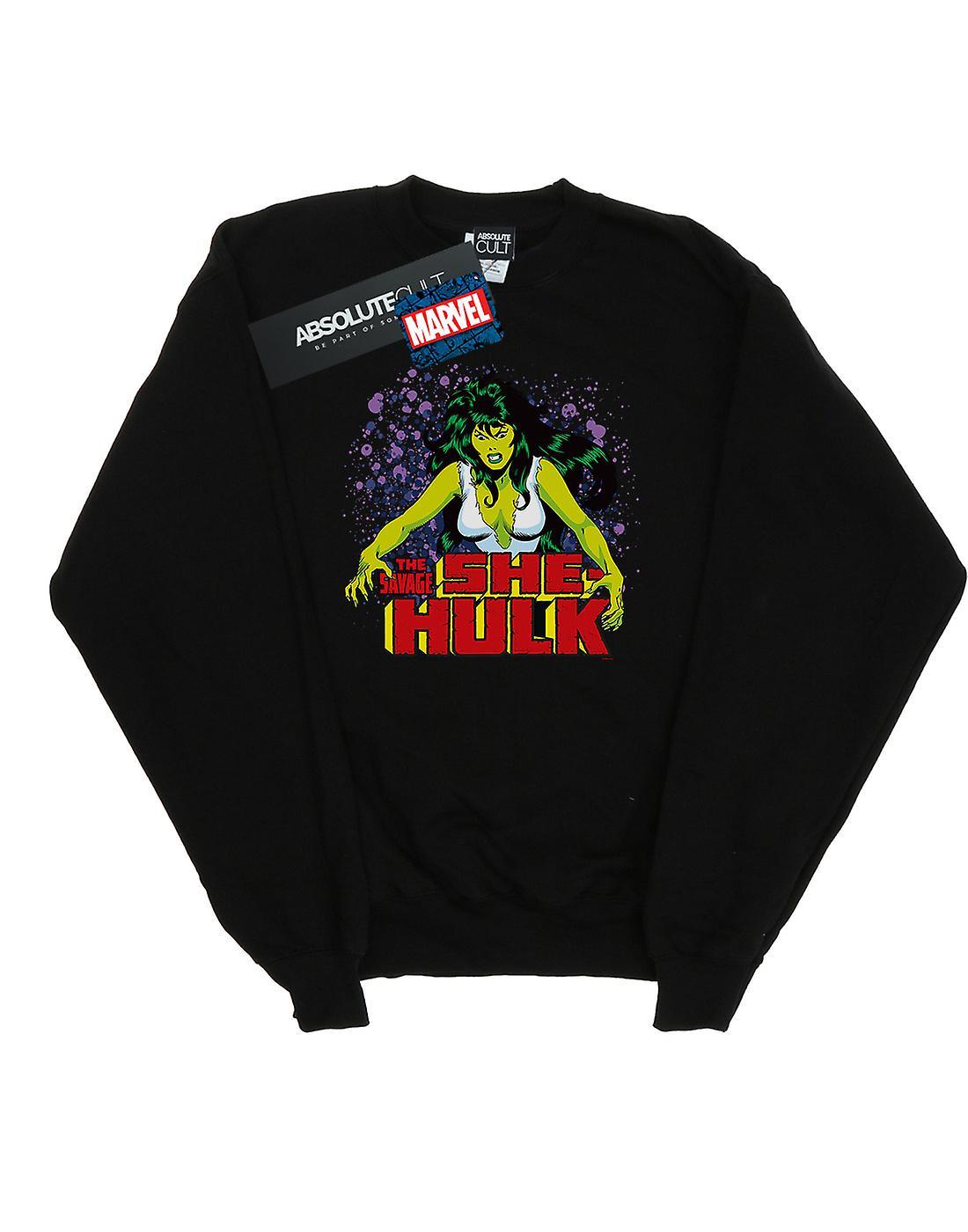 Marvel Women's The Savage She-Hulk Sweatshirt
