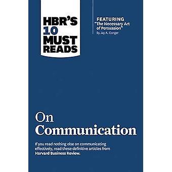 10 de HBR doit lectures sur Communication - article vedette-la Nece