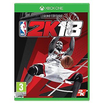 NBA 2K 18 Legend editie Xbox One spel