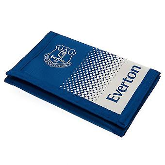 Everton FC Fade Design Touch Fastening Nylon Wallet
