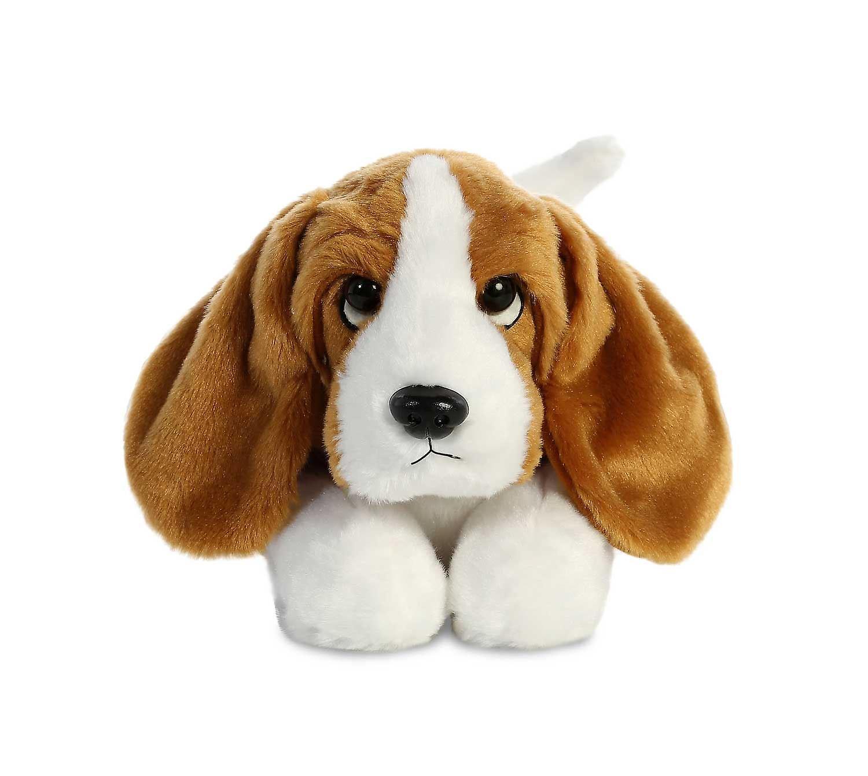 Aurora Flopsies - Basset Hound Dog Soft Toy 30cm