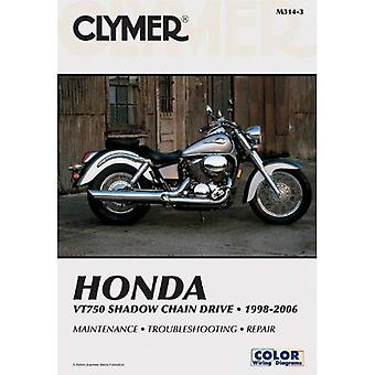 Honda VT750 Shadow Chain Drive 1998-2006 (Clymer Motorcycle Repair) (Clymer Manuals: Motorcycle Repair)
