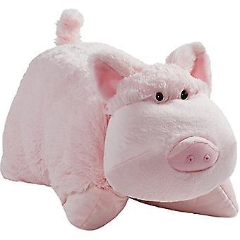 "Original Wiggly Pig Pillow Pet - 18"" Stuffed Animal Plush Toy"