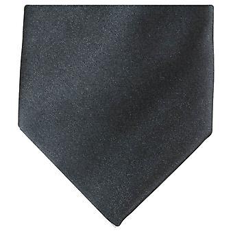 Knightsbridge halsdukar vanlig Polyester Tie - mörkgrå