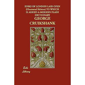 Waschbecken von London offen illustriert gelegt, die Edition, die eine moderne Flash-Wörterbuch von Cruikshank & George hinzugefügt wird