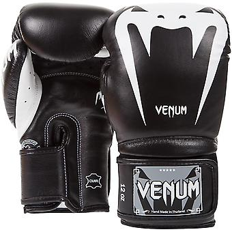 Venum Giant 3.0 Hook and Loop MMA Training Gloves - Black/White