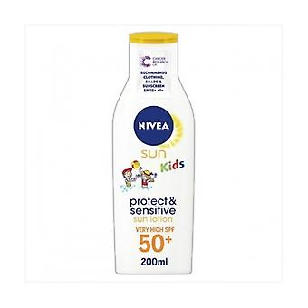 NIVEA [Sonne] Kinder reine & F50 Sens Lotion 200Ml