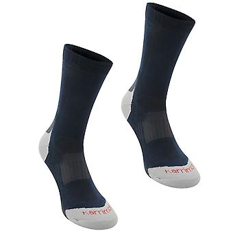 Karrimor Mens Walking chaussettes 2 Pack Boot humidité Wicking Ventilation