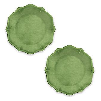 Epicurean Set van 2 Amazon groene Melamine zijplaten
