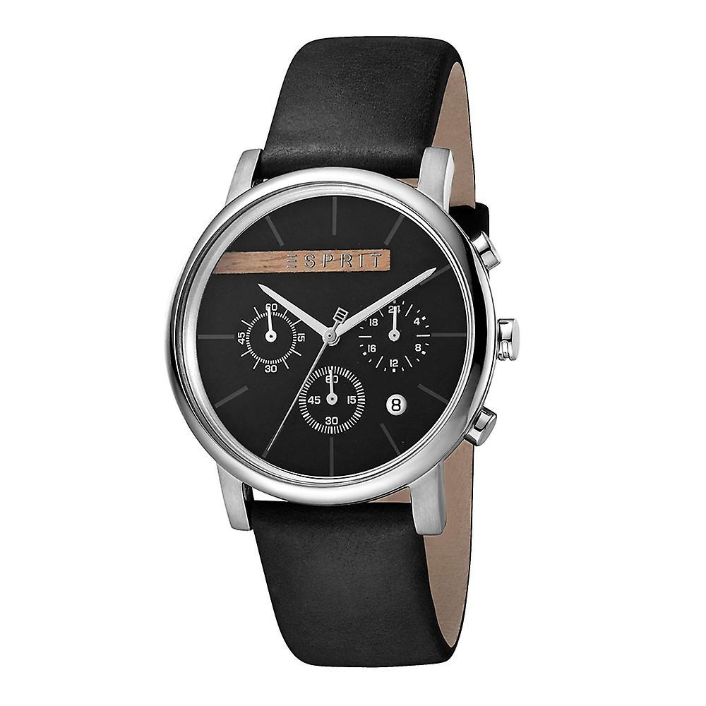 Esprit ES1G040L0025 Vision Black Men's Watch Chronograph