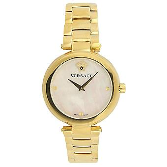 Versace Vqr120017 Mystique Gold Ladies Watch