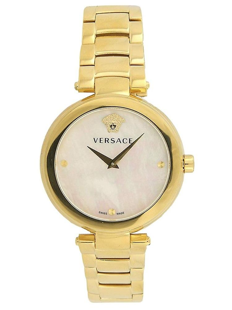 Versace Vqr120017 Mystique Gold Ladies Watch