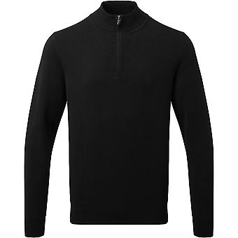 Outdoor Look Mens Embrace Cotton Blend Zip Sweatshirt