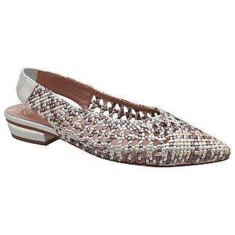 Pedro Miralles Woven Style Flat Sling Back Sandal