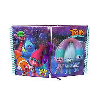 Trolls Movie Design Studio Scrapbook
