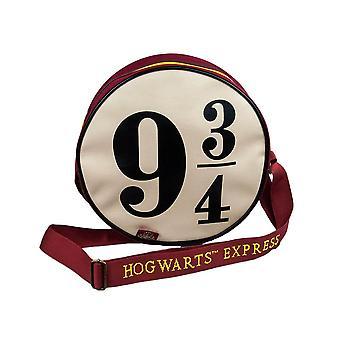 Harry Potter Hogwarts Express 9 3/4 Round Satchel Bag