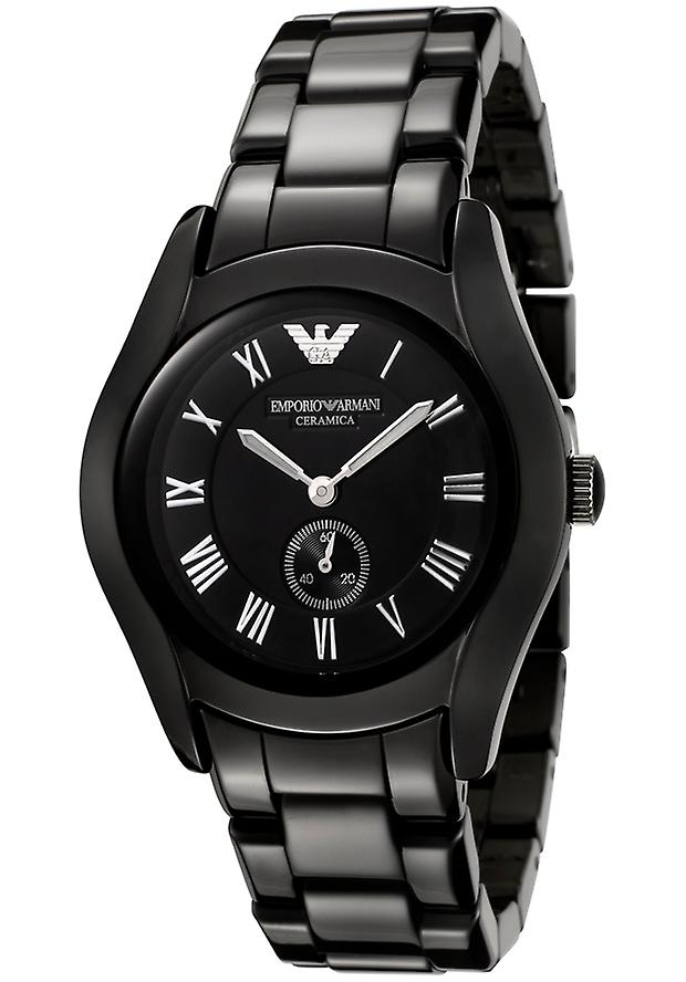 Emporio Armani Ar1402 Women's Ceramica Black Dial Black Watch