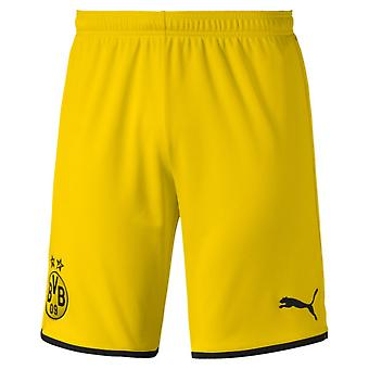 2019-2020 Borussia Dortmund Home Puma Shorts (Yellow) - Kids