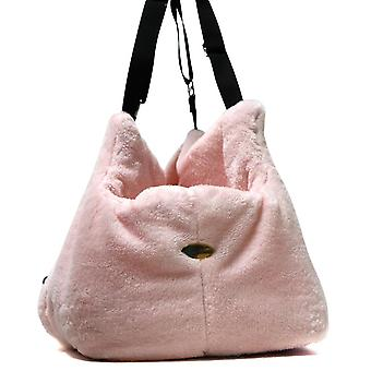 Teddy Bear Office and travel Pink Dog Carrier