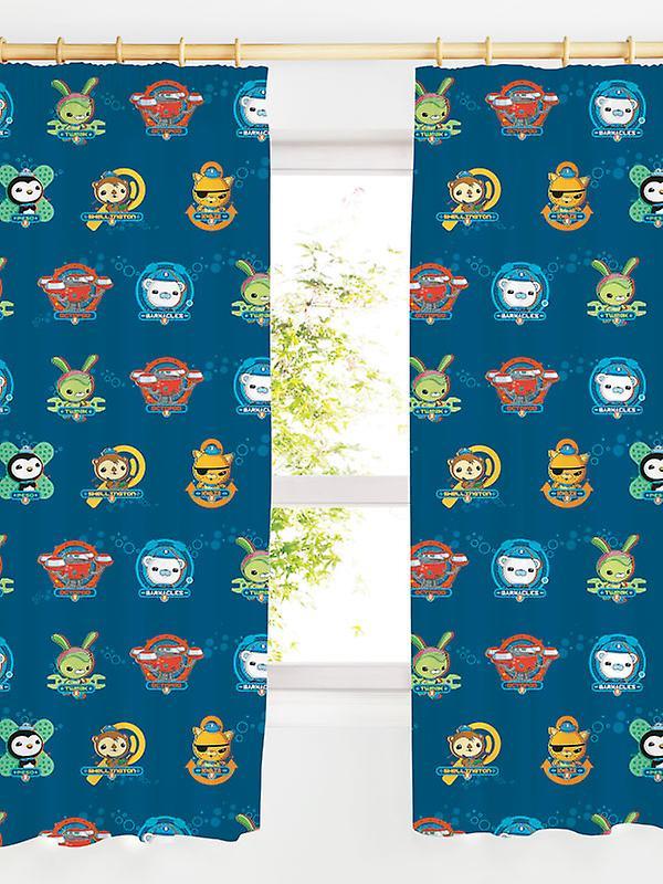 Octonauts Crew Eyelet Curtains