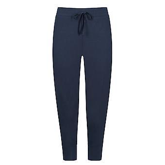 Mey 16959-408 Femmes-apos;s Night2Day Demi Night Blue Cotton 3/4 Pantalon Loungewear