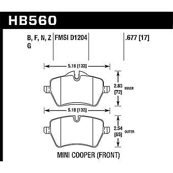 Hawk Performance HB560F. 677 HPS