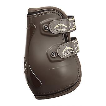 Veredus Pro Jump Velcro Rear Fetlock Boots - Brown