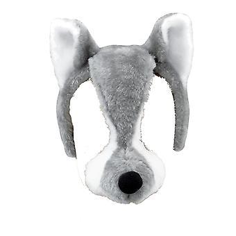 Bristol Novelty Unisex Kids/Children Plush Wolf Mask With Sound