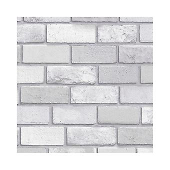 Arthouse Diamond Brick Pattern Glitter Vinyl Faux Effect Textured Modern Wallpaper 669401