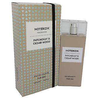 Notebook patchouly & cedar wood eau de toilette spray by selectiva spa   541916 100 ml