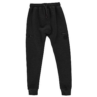 Firetrap muchachos caer entrepierna Jogging pantalón chándal Junior fondos pantalones niños