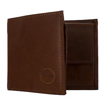 Chiemsee bolso de los hombres monedero Cognac 8103