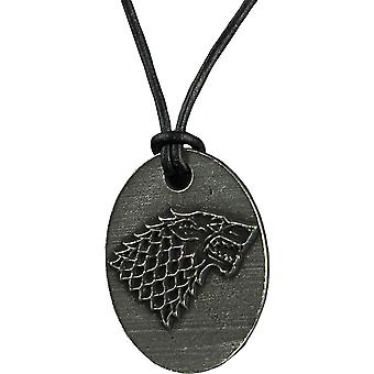 Game of Thrones Stark Oval riipus