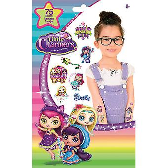 Glitter Tattoo - Little Charmers - Temporay 55ct Kids Toys New tt2088