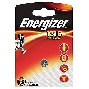 Energizer Maxi Batteries Blister (Photo) Fsb-1 Lithium CR1216