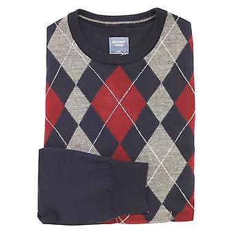 OLYMP Olymp Red Or Grey Sweater 5329