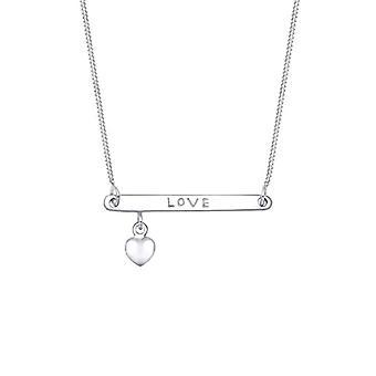 Elli sølv anheng halskjede-45 cm 0111970216_45