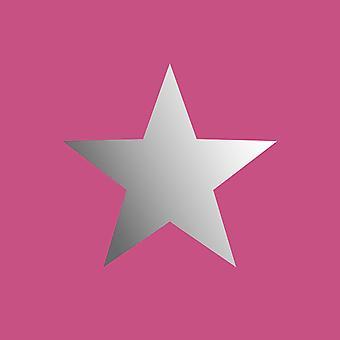 Rasch Sterren Wallpaper Grijs Roze Zilver Metallic Folie Glinsterende Girls Boys Room